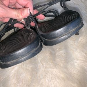 Chaco Shoes - Chaco gray strap slip in water sandals ladies 7